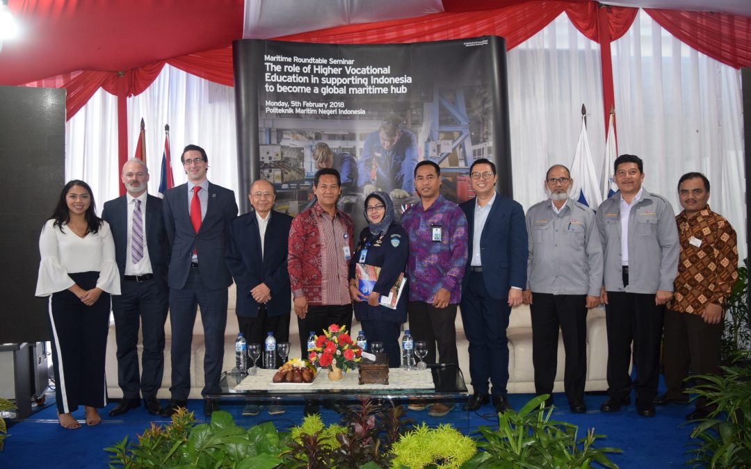 International Maritime Roundtable Seminar, British Embasy Jakarta – Kemristekditki – Polimarin